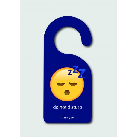 Do Not Disturb - Emoji Sleeping