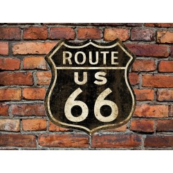 Route 66 Vintage style sign