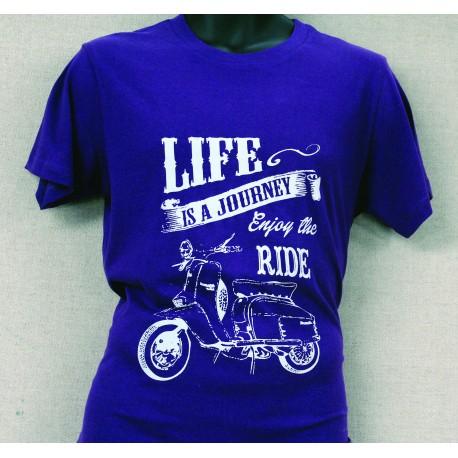 Life's a Journey Enjoy The Ride T-Shirt