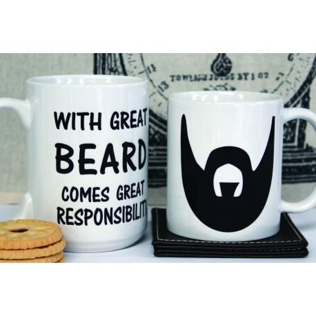 With Great beard - Mug