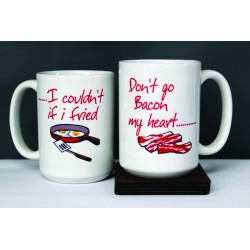 Don't Go Bacon My Heart - Mug